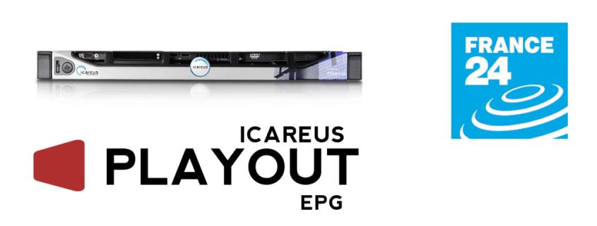 Solución Icareus EPG para France24