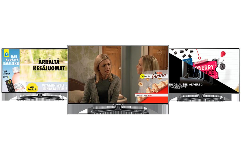 Icareus Addressable TV Advertising